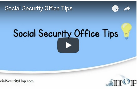 YouTube video of Social Security Office Tips